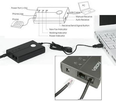 NATIVASOFT FAX DIGITAL MOD. FX-1000