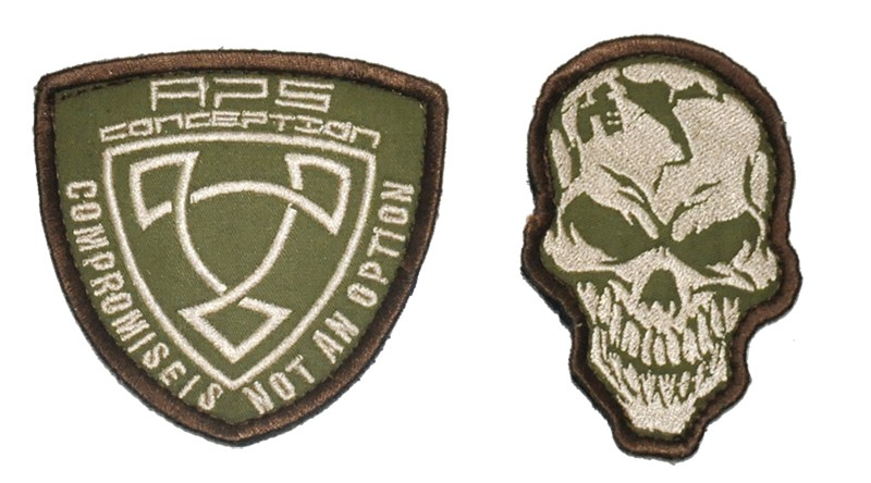 Patch APS Skull / APS 2 IN 1