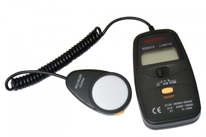 VOYAGER MEDIDOR LUX METER DIGITAL MOD. MS-6610