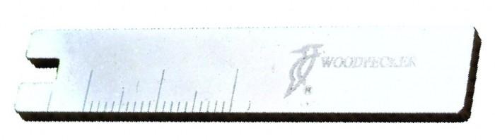 Clave parágrafo de colocación de limas endodontia com Regla