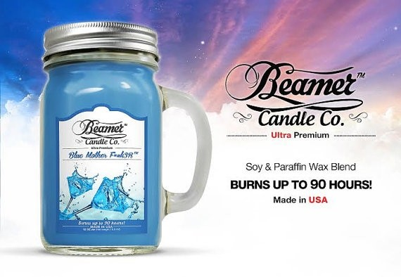 Essencia Beamer Candle Blue Mother F