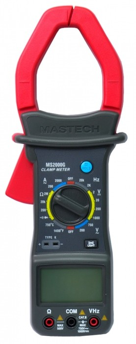 Medidor Digital Clampmeter Modelo MS-2000G