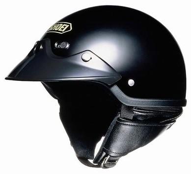 CAPACETE SHOEI ST CRUZ BLACK M 56/57