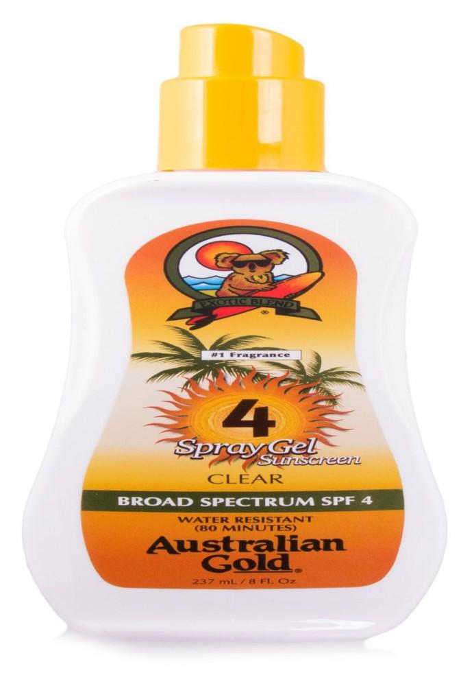 Big 237 Ml Australian Gold® Spray Gel Fps 4 Clear Broad