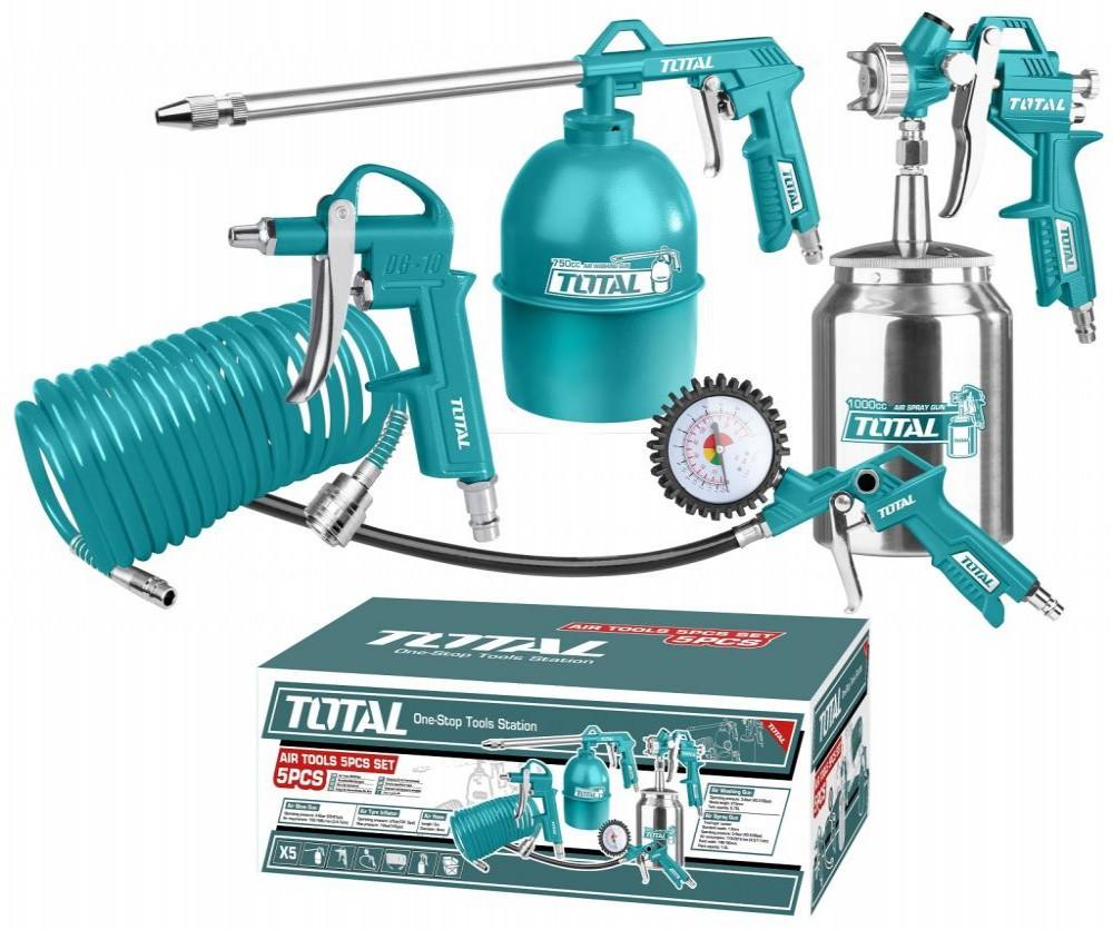 TOTAL KIT AIR TOOLS TATK051 5PCS