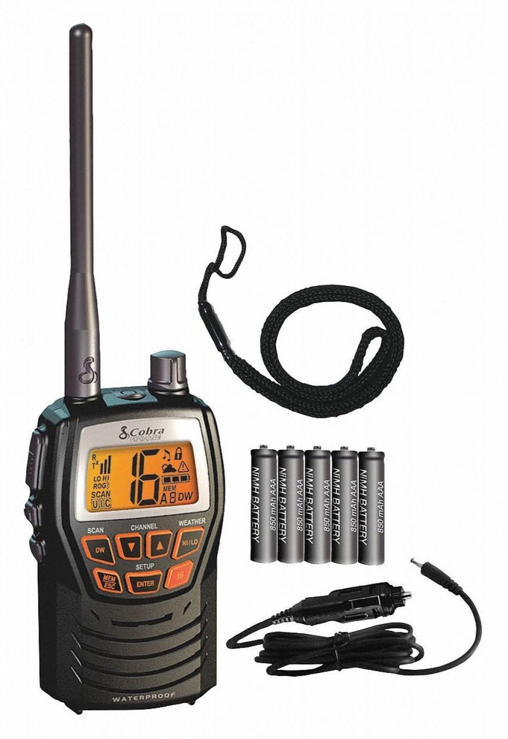 COBRA RADIO MARINE MR-HH125