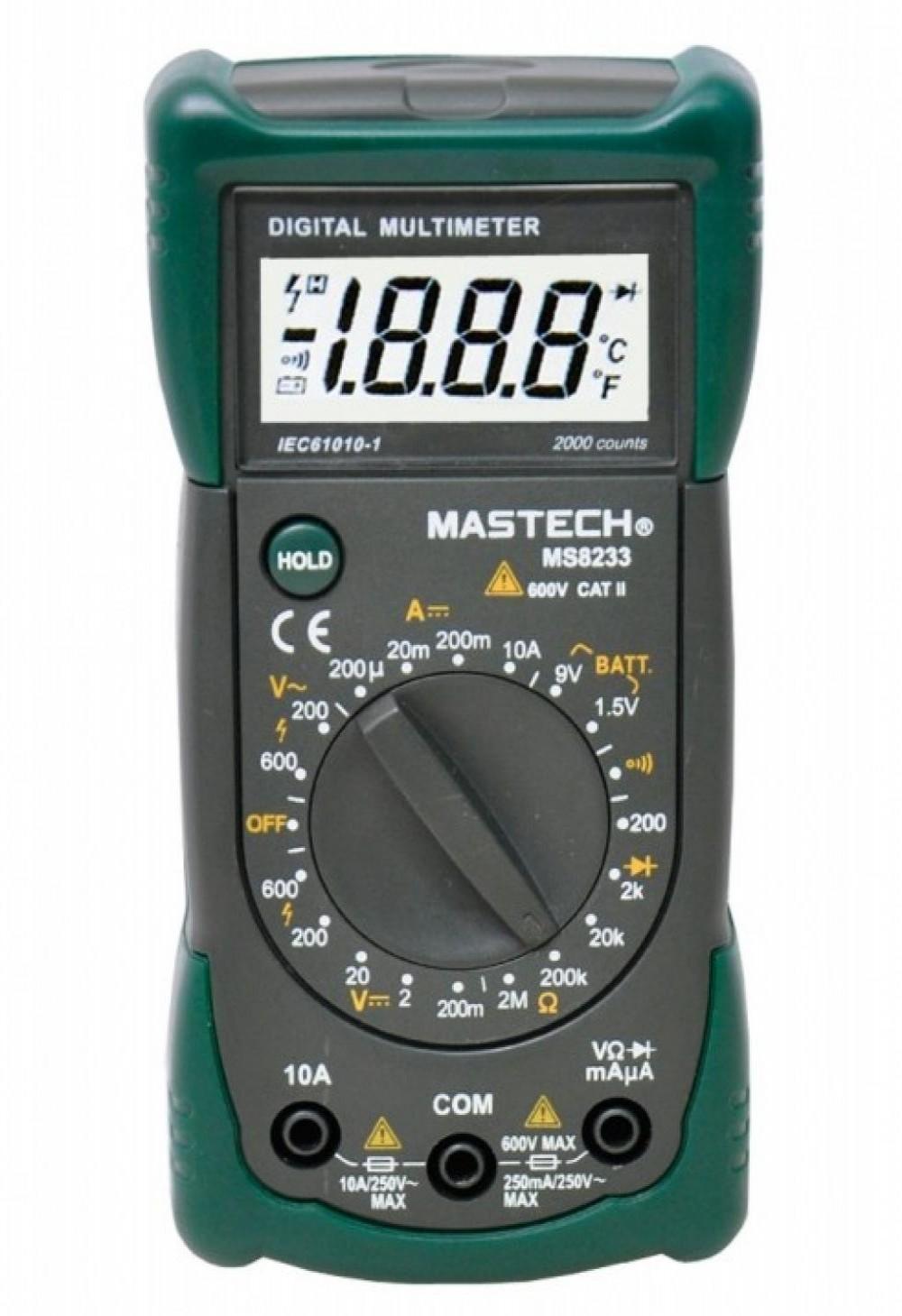 VOYAGER MULTIMETRO DIGITAL MS8233A