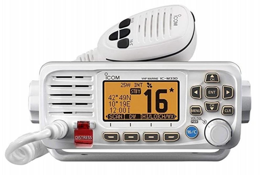 ICOM RADIO MARINE IC-M330G BRANCO OU PRETO