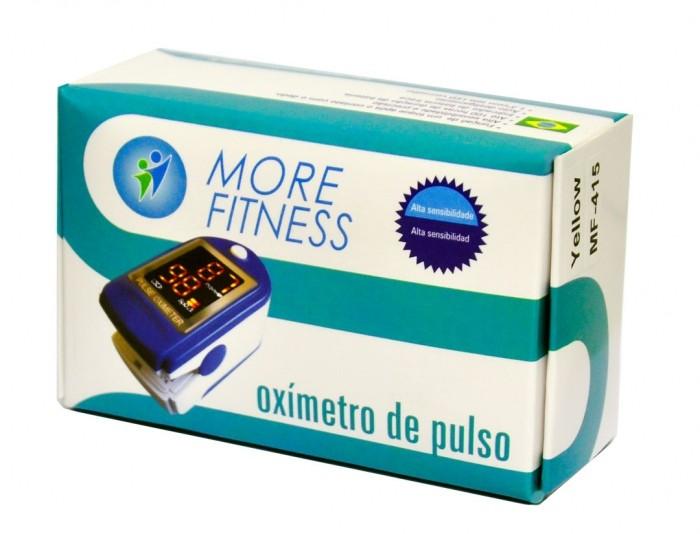 Oxímetro de dedo Morefitness Modelo MF-415