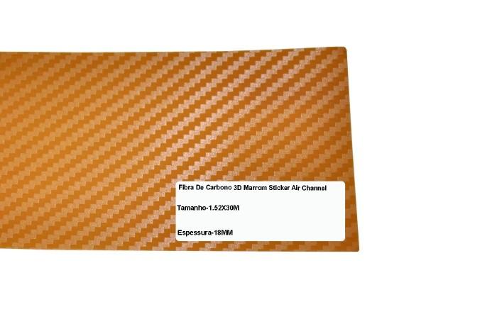 BOXSTER ADESIVO 3D DI-NOC TEXTURIZADO MOD B-6 MARROM CLARO