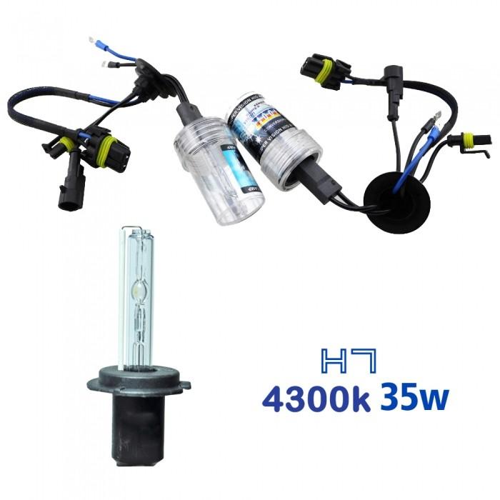 VOYAGER LAMPADA XENON HID7 AC COR 4300k 12V 35W