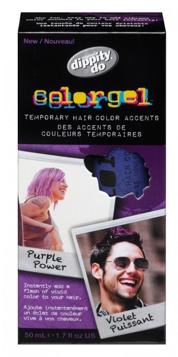 Gel Colorido Dippity Do Purpura DD04141 50 ml