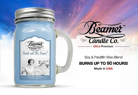 Essencia Beamer Candle Fresh Out Dry