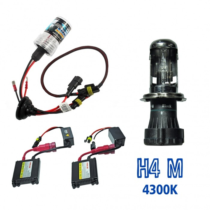 Kit Xenon HID4M DC Cor 4300K 12volts 35watts