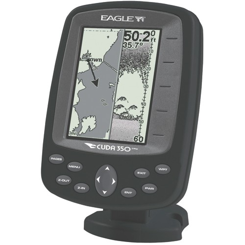 EAGLE GPS FISHFINDER CUDA 350