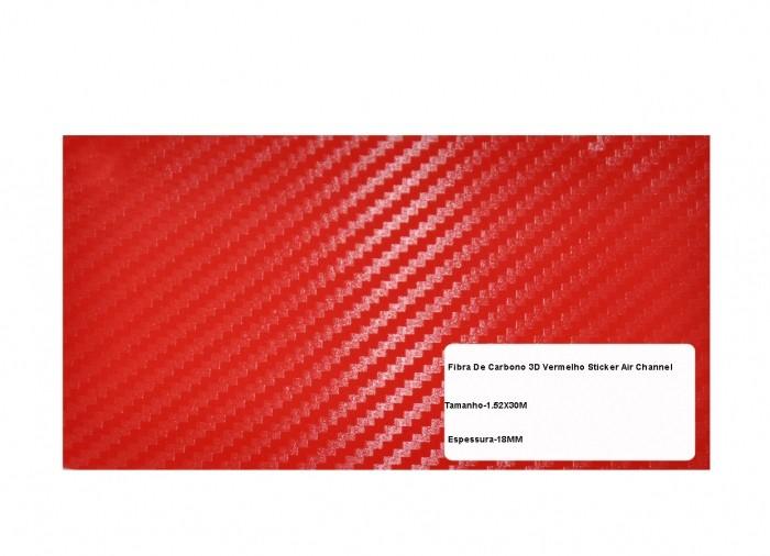 BOXSTER ADESIVO 3D DI-NOC TEXTURIZADO MOD. B-3 VERMELHO