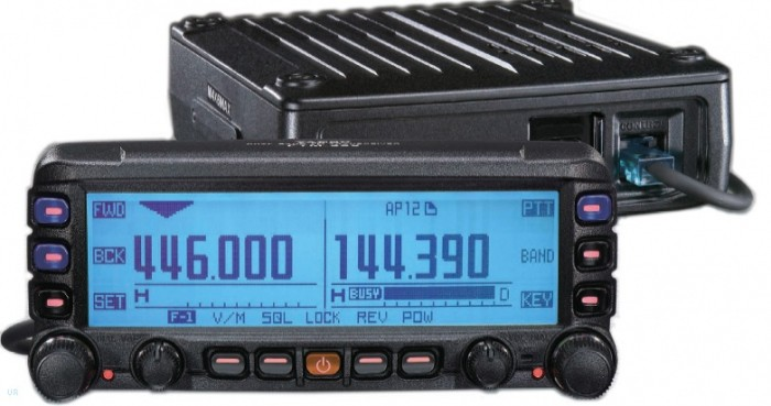 YAESU RADIO DUALBAND FTM-350R