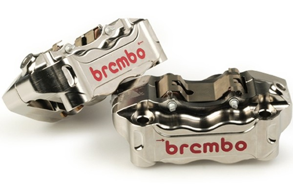 BREMBO CALIPER KIT HPK NICKEL FINISH RADIAL  - (220A80310)