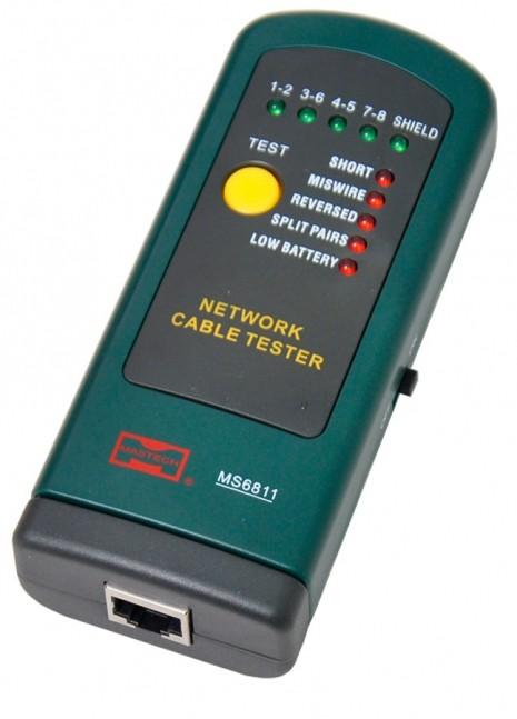 VOYAGER MEDIDOR NETWORK CABO TESTADOR MOD. MS-6811
