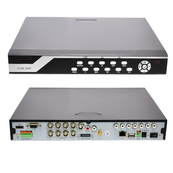 DVR Voyager VR-3709WHD 8 Canais