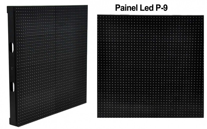 VOYAGER PAINEL LED OUTDOOR P-9 SMD 64 PIXELS/MODULO 5000bits