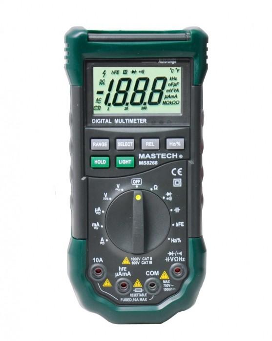 Medidor Digital Multimeter Modelo M-8240A