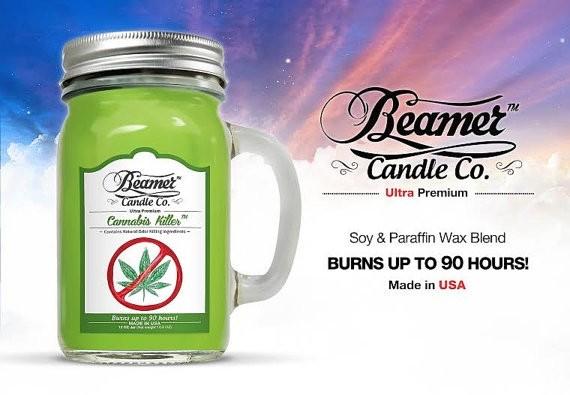 Essencia Beamer Candle Cannanis Kill