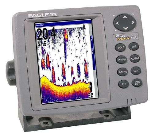 EAGLE GPS FISHFINDER FISHMARK 640C