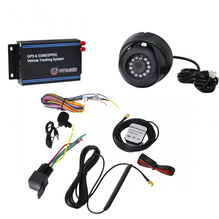 VOYAGER GPS RASTREADOR VEICULAR VR-524 GSM / 4 BANDAS / CAMERA
