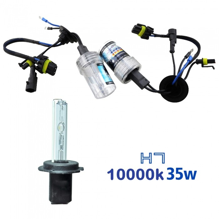 VOYAGER LAMPADA XENON HID7 AC COR 10000k 12V 35W