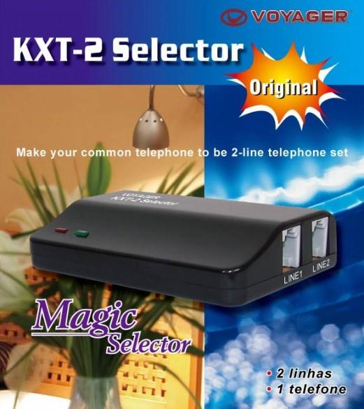 VOYAGER SELECTOR DE 2 LINHAS KXT-2