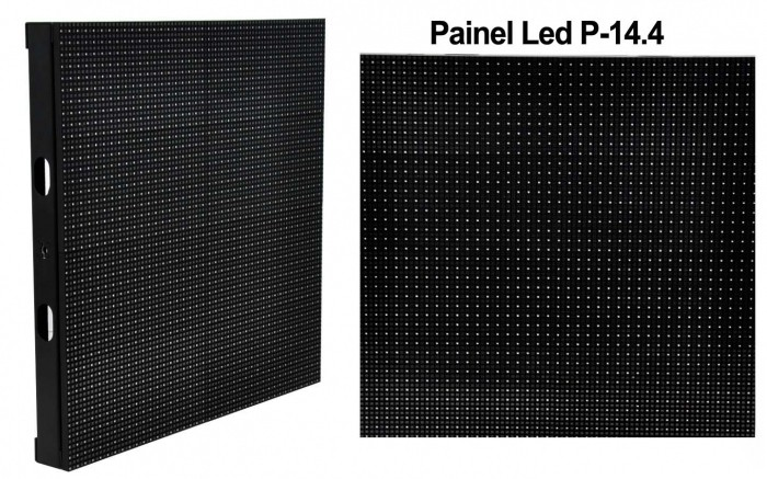 VOYAGER PAINEL LED OUTDOOR P-14,4 SMD 40 PIXELS/MODULO 5000bits