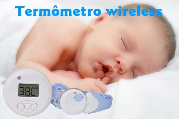 MOREFITNESS TERMOMETRO DIGITAL WIRELESS MF-323