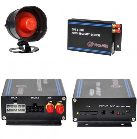 VOYAGER GPS RASTREADOR VEICULAR VR-516 GSM / 4 BRANDAS / ALARME