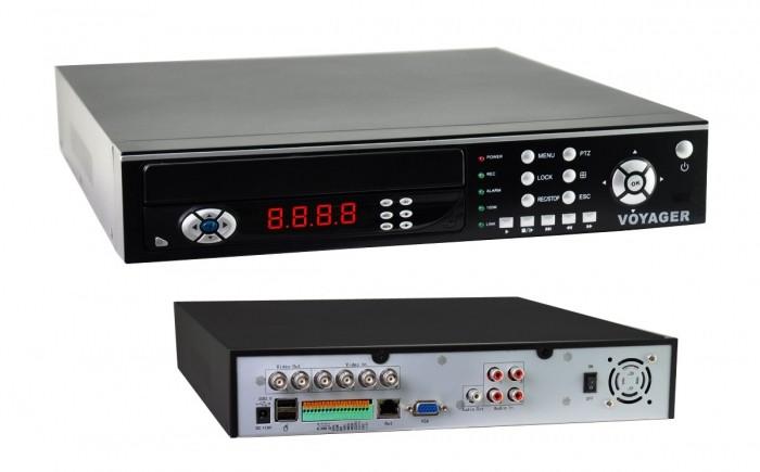 DVR 4 Canais Voyager VR - 704