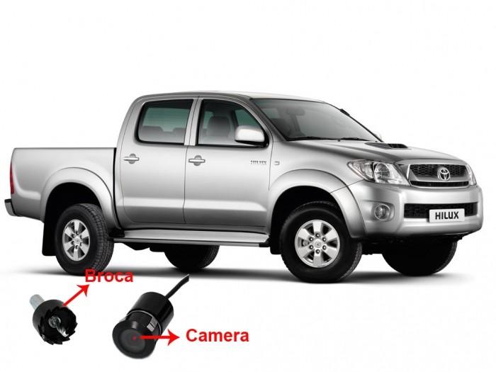 Câmera de ré Toyota Hilux