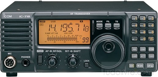 Rádio Icom  HF IC-718
