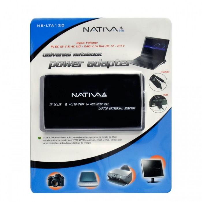 Adaptador Nativasoft Notebook Modelo NS-LTA120