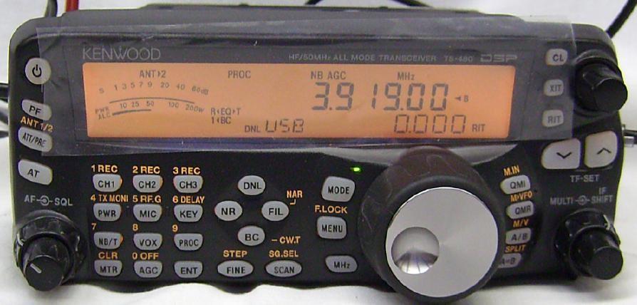 KENWOOD RADIO HF TS-480SAT+AT TUNER