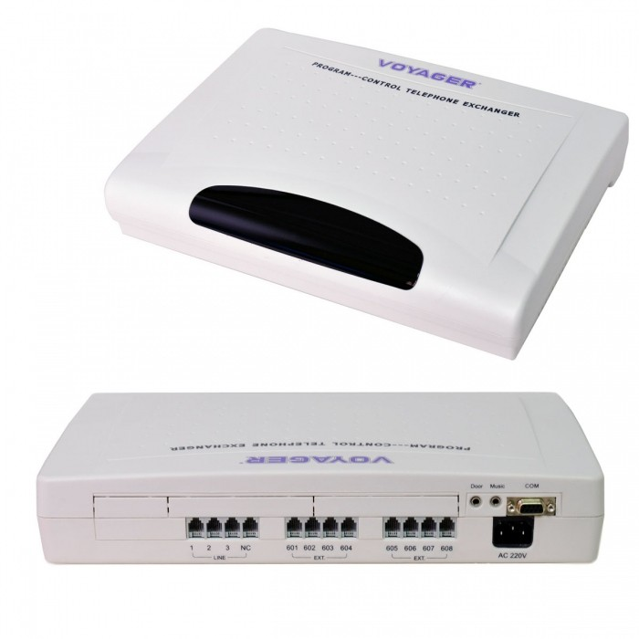 Central Telefonica Voyager Modelo 308C+PCID / 110Volts