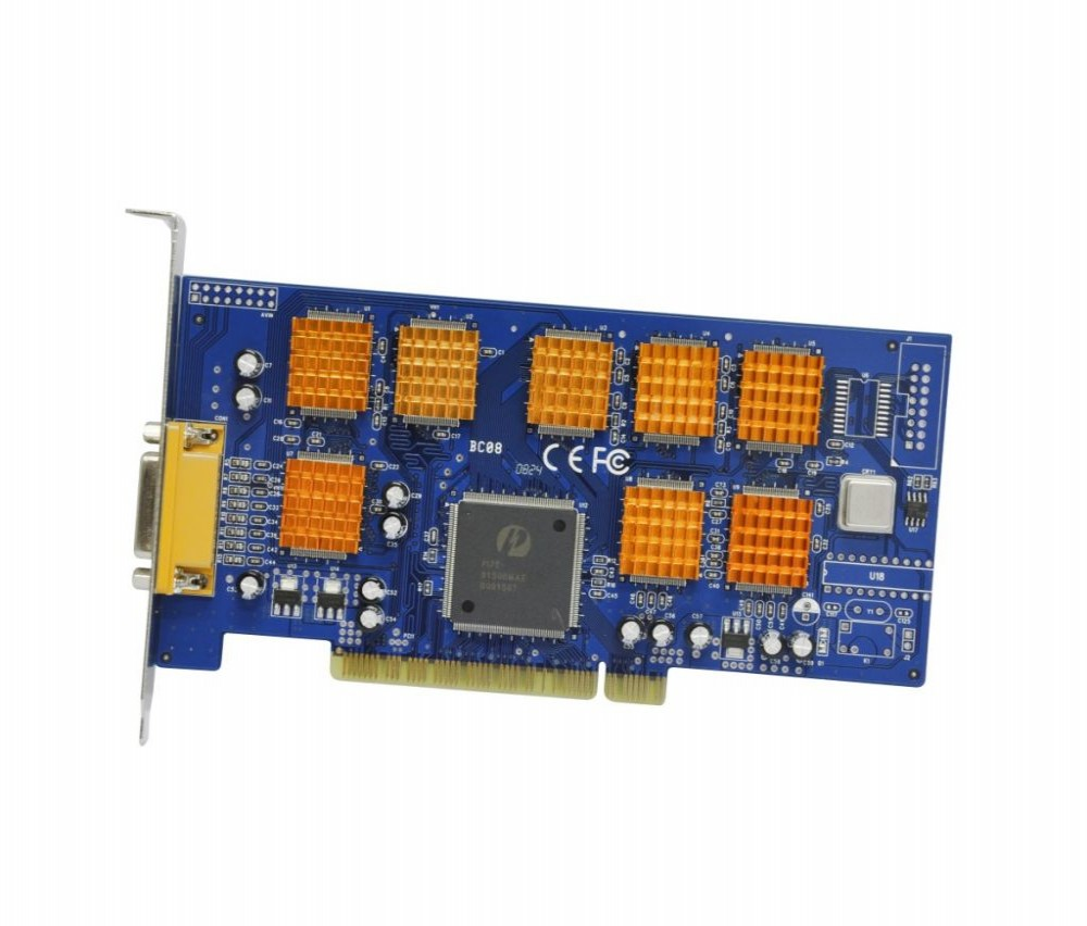 Cctv Placa Voyager Modelo VR-BC08 240F