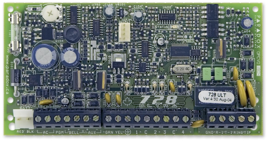 Cctv Alarme Paradox Modelo Pa-728+Tec.636