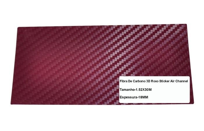 Adesivo Fibra De Carbono 3d Moldável Tipo Di-noc Texturizado Modelo B-5 Bordo