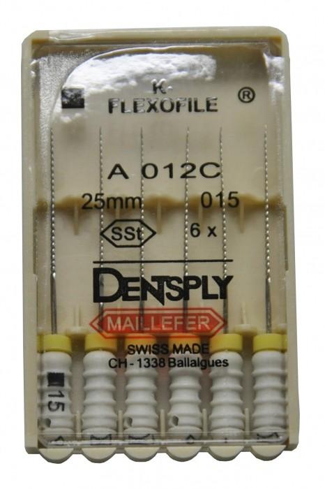 Dent Dentsply Maillefer K-FLEXOFILE 25mm 15