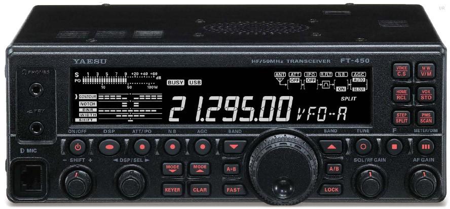 Rádio Yaesu  HF  FT-450