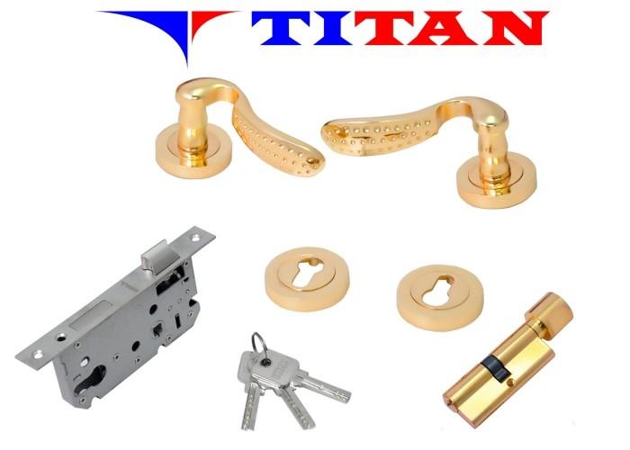 Fechadura de Zinco Titan Modelo A1222