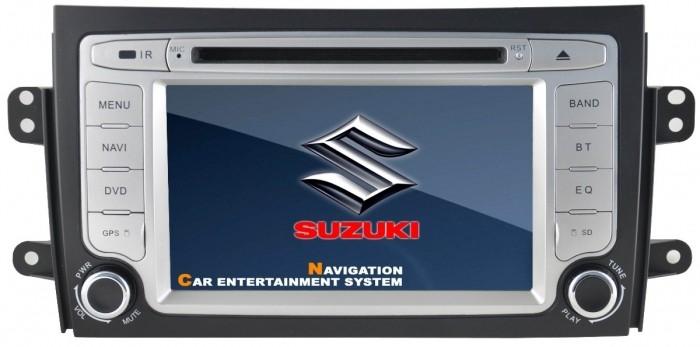 Central Multimidia Suzuki SX4 Modelo C7074SS