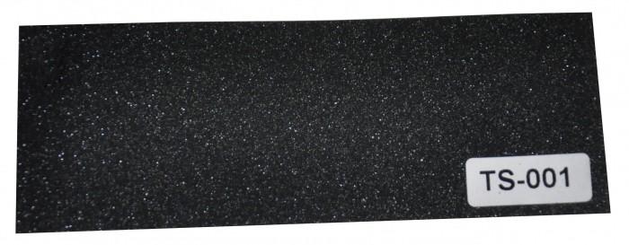 Adesivo Fibra De Carbono 3d Moldável Tipo Di-noc Texturizado Modelo TS-001 Preto Brilhante