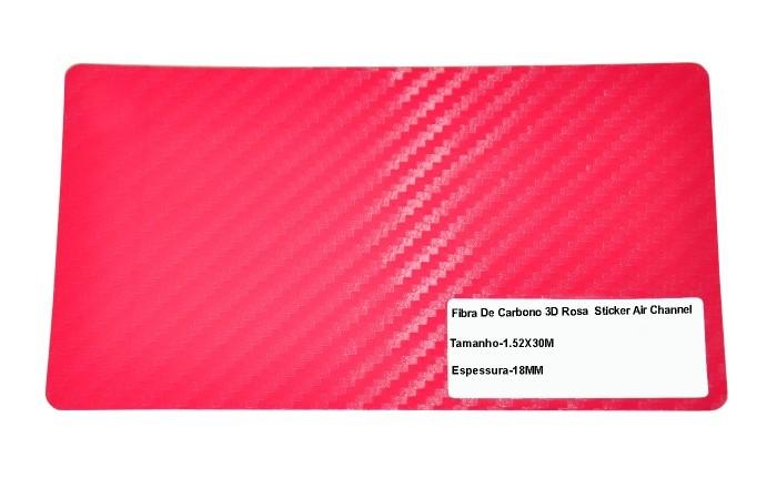 Adesivo Fibra De Carbono 3d Moldável Tipo Di-noc Texturizado Modelo B-9 Roza