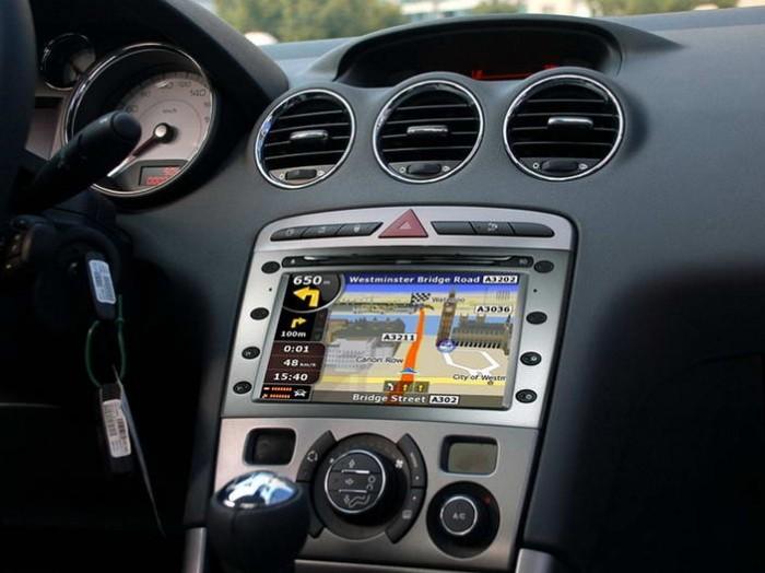 Central Multimidia Peugeot 408 / 407 Modelo C7040P4